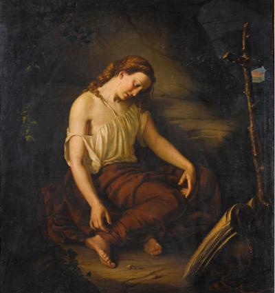 Aleksander Rycerski, Maria Magdalena, 1865; źr. Christie's