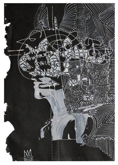 Anastazja Markowicz, Rysunek III, 30x23 cm; źr. TouchOfArt