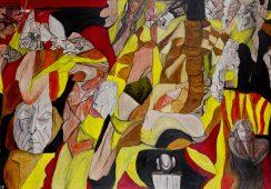 """Sterowanie światem – wystawa malarstwa Wojciecha ,,Tuta"""" Chechlińskiego w Galerii Kuratorium"""