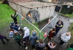 Dzięki pracy Banksy'ego powstanie nowe centrum sztuki w Walii