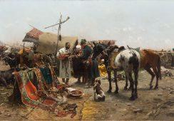 Rekord za obraz Józefa Brandta na szczytny cel