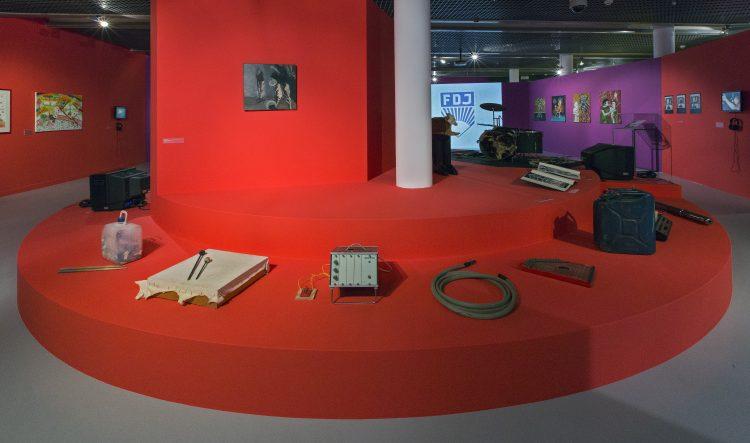 Widok wystawy Notatki z podziemia, 2017, Muzeum Sztuki w Łodzi, fot. P. Tomczyk Muzyczuk - rynekisztuka.pl