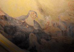 Odkryto XVIII-wieczne freski w opactwie Benedyktynów w Tyńcu