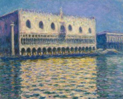 Claude Monet, Le Palais Ducal, 1908; źr. Brooklyn Museum / rynekisztuka.pl