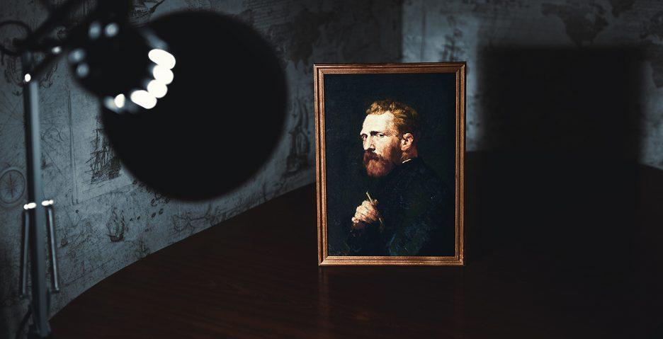 obraz z Van Goghiem