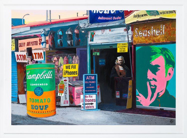 Krzysztof Kiwierski, Coney Island, 2018; źr. FaceToFaceArt - rynekisztuka.pl