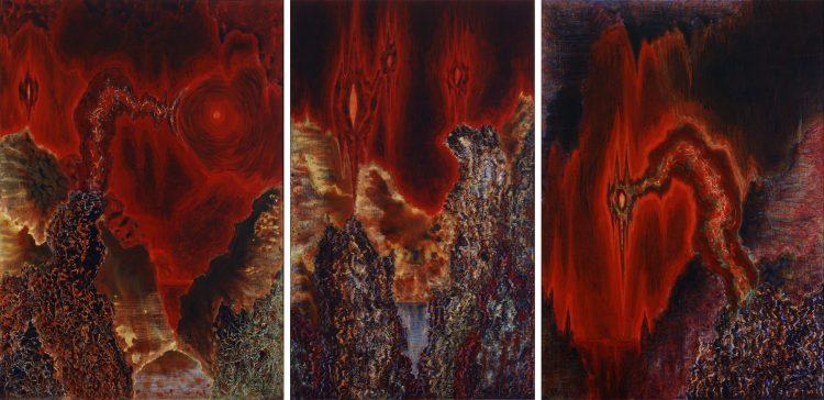 Jerzy Tchórzewski, Gorący świat, 1975; źr: Zachęta - Narodowa Galeria Sztuki