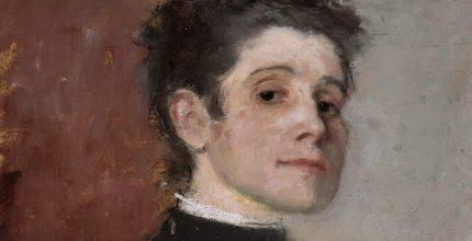 Olga Boznańska, Autoportret, 1896; Muzeum Narodowe w Warszawie