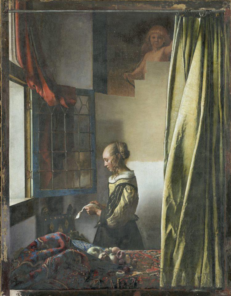 Obraz na wpół odsłoniętym amorem. Źr: Staatliche Kunstsammlungen Dresden, fot. Wolfgang Kreische.