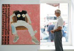 Marek Sobczyk: 2015–2019 [Dłuższe życie każdego obrazu] [Android]. Fotorelacja z wernisażu wystawy