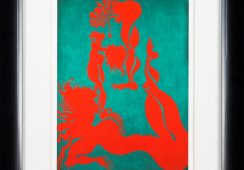 Jan Dobkowski Bez tytułu tryptyk, 1984; Face To Face Art