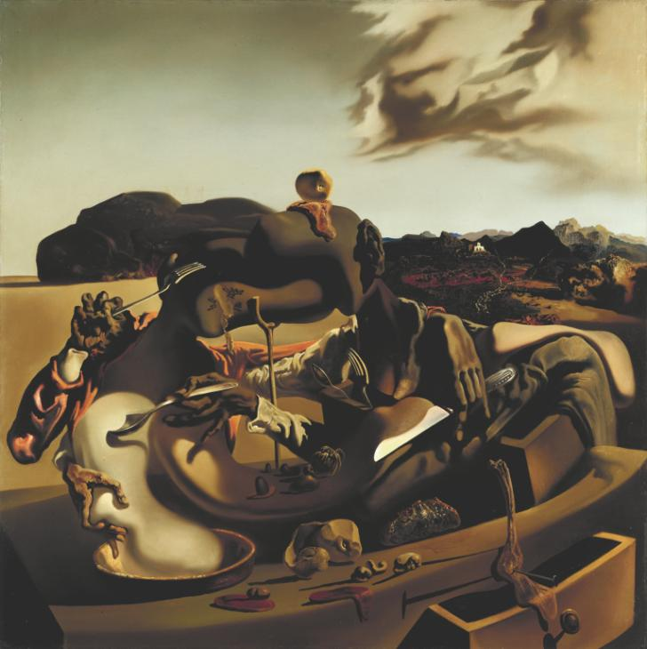Autumnal Cannibalism 1936 Salvador Dal? 1904-1989 Purchased 1975 http://www.tate.org.uk/art/work/T01978