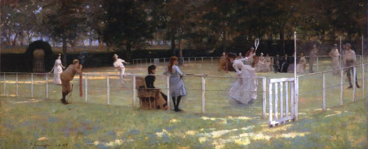 John Lavery, The Tennis Party, 1885
