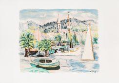 Mojżesz Kisling Port, 1954; Face To Face Art