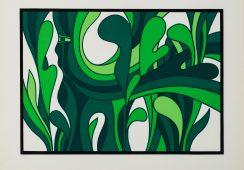Jan Lenica, Kompozycja zielona; Face To Face Art