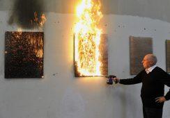 Sztuka w płomieniach
