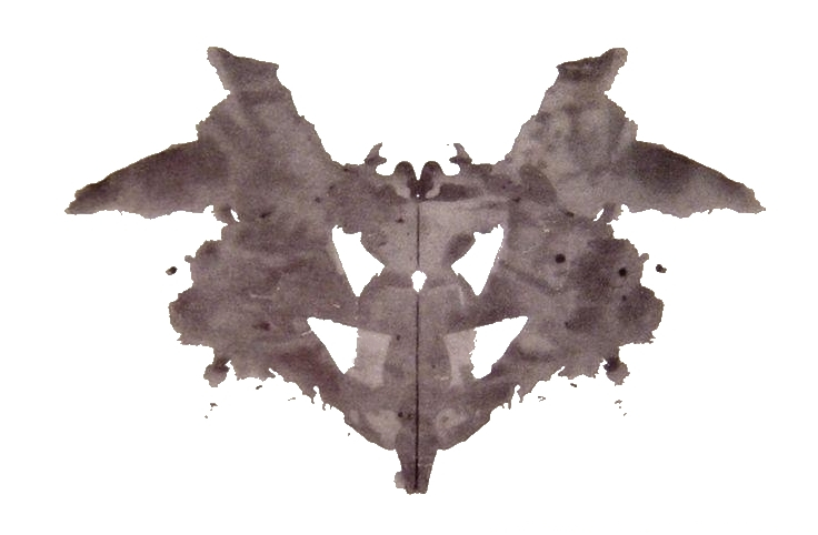 Plansza z testu Rorschacha