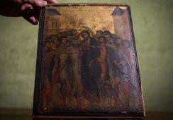 Obraz Cimabue odnaleziony w domowej kuchni