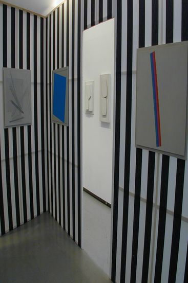 Daniel Buren, Henryk Stażewski, wystawa w MSL
