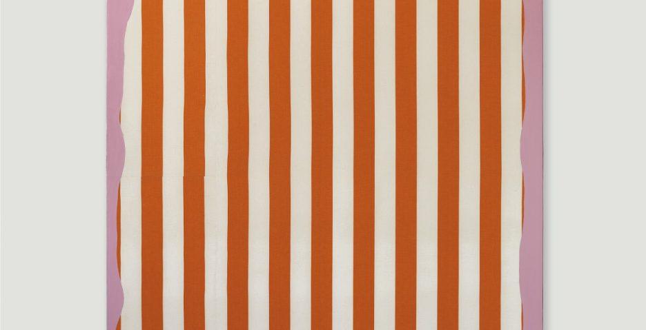 Daniel Buren, Peinture aux formes indéfinies, 1966; źr. Christie's