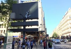 Banksy skradziony spod Pompidou