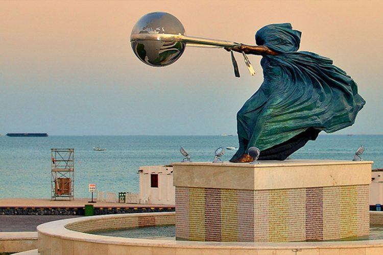 Lorenzo Quinn, Siła natury (2), Katar