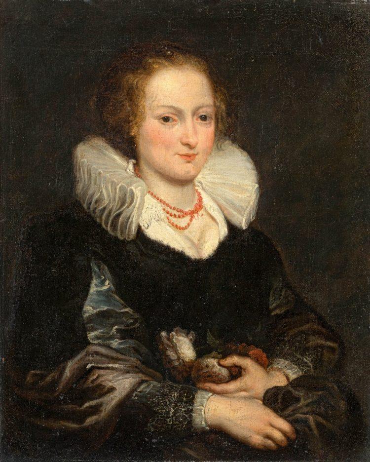 Peter Paul Rubens, Porträt einer Dame, źr. Leo Spik