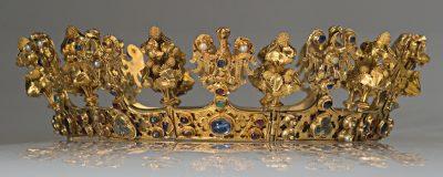 Korona kobieca, początek XIV w. Muzeum Narodowe we Wrocławiu