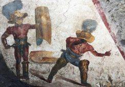 Fresk sprzed 2 tysięcy lat odkryty w pompejańskich ruinach