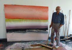 Zmarł Ed Clark, innowator malarstwa abstrakcyjnego