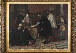 Historia kryjąca się za odnalezionym obrazem Bronisława Abramowicza