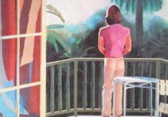 Prawie 50 lat niewidziany obraz Hockney'a na aukcji w Christie's