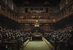 Rekord pobity: 9 milionów za dzieło Banksy'ego