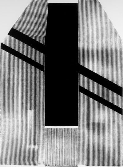 wstep fragment szeptu, serigrafia, 76 x 54 cm, 1979