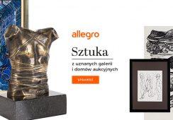Allegro - nowy gracz na rynku sztuki