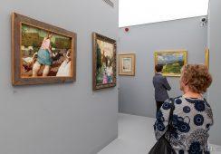Wernisaż wystawy stałej Jerzego Dudy-Gracza w Nowohuckim Centrum Kultury