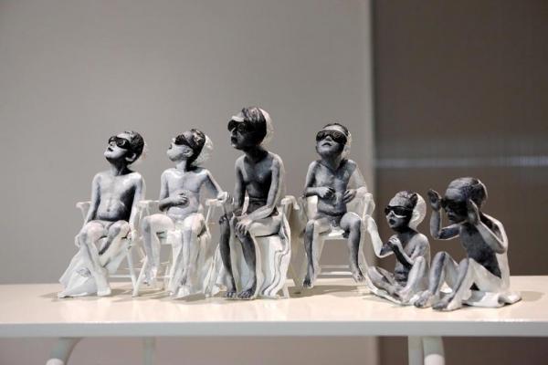 Anna Baumgart, 'Babyfarm', 2008, instalacja rzeźbiarska