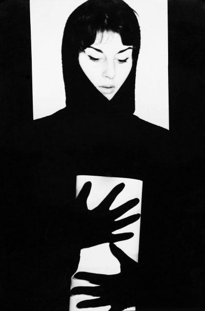 Edward Hartwig, Portret dziewczyny, fotografia