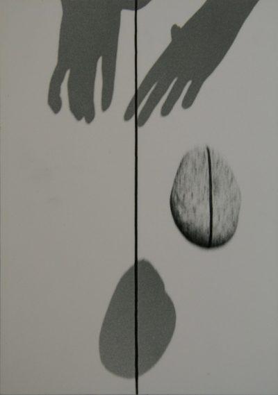 Zygmunt Rytka, Ciągłość nieskończoności | Continual Infinity, 19842003 print comp., fotografia na piance kapa fix, druk EPSON STYLUS PHOTO 900 (folia), 21×30 cm, źródło: Galeria Labirynt