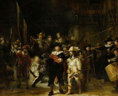 "Rijskmuseum / Rembrandt, ""Straż nocna"", 1642."