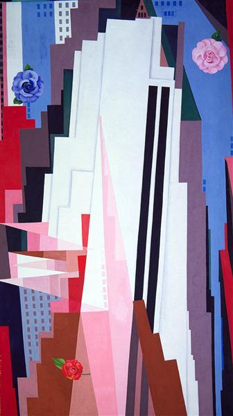 """Georgia O'Keeffe, """"Manhattan"""", 1932."""