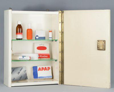 Wilhelm Sasnal, bez tytułu, 2000, obiekt, 46,5 × 16 × 32 cm, Kolekcja MOCAK-u, Wystawa: Medycyna w sztuce źródło: MOCAK