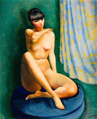 Mojżesz Kisling, Khera - Kiki de Montmartre, 1932 rok, źródło: desa.pl