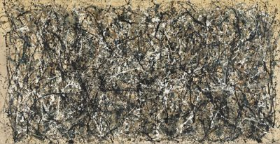 "MoMA / Jackson Pollock, ""One: Number 31"", 1950."