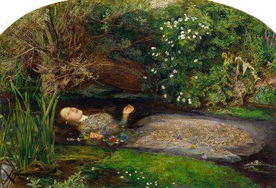 "Tate Britain / John Everett Millais, ""Ofelia"", 1851-1852."