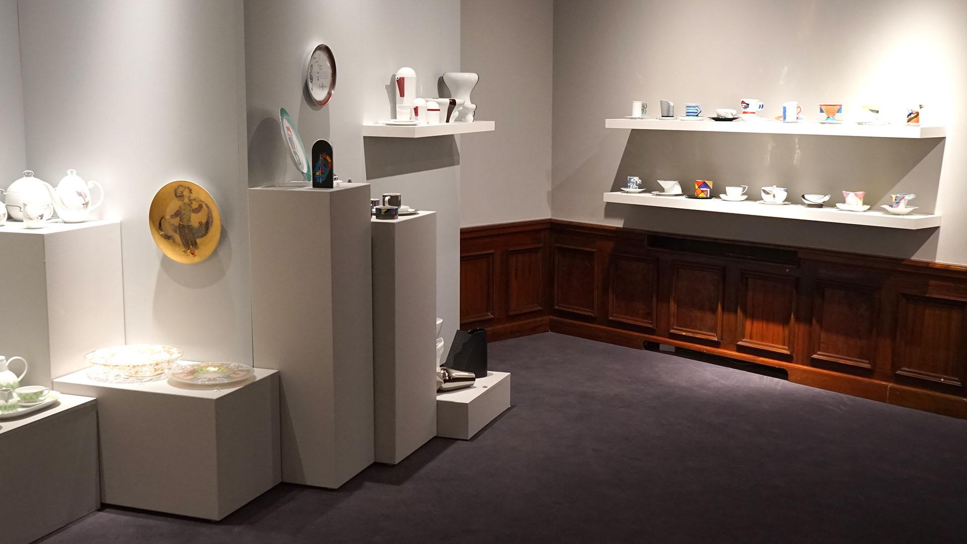 Wyroby porcelanowe Rosenthal - wystawa Muzeum w Gliwicach