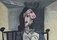 Obraz z Dorą Maar Picassa na aukcji w Christie's