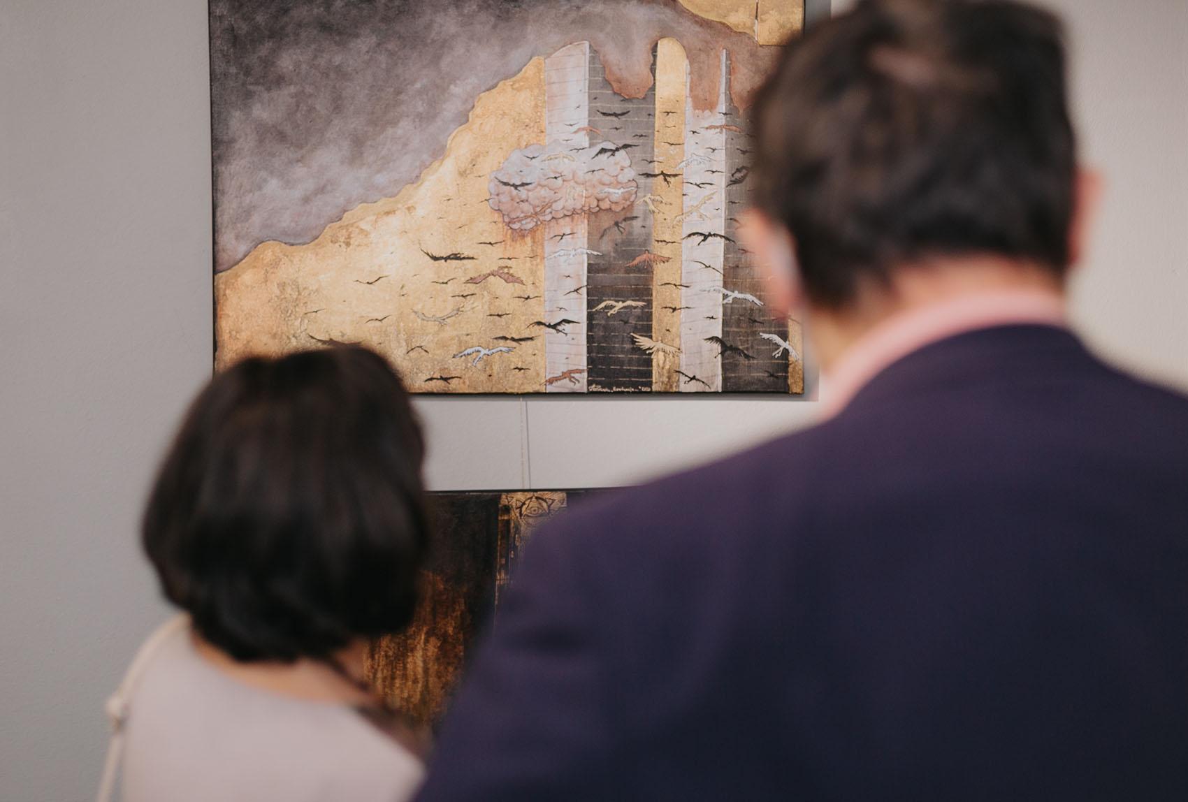 """""""Beyond the Surface"""" w Galerii IKIKATA - relacja z wernisażu"""