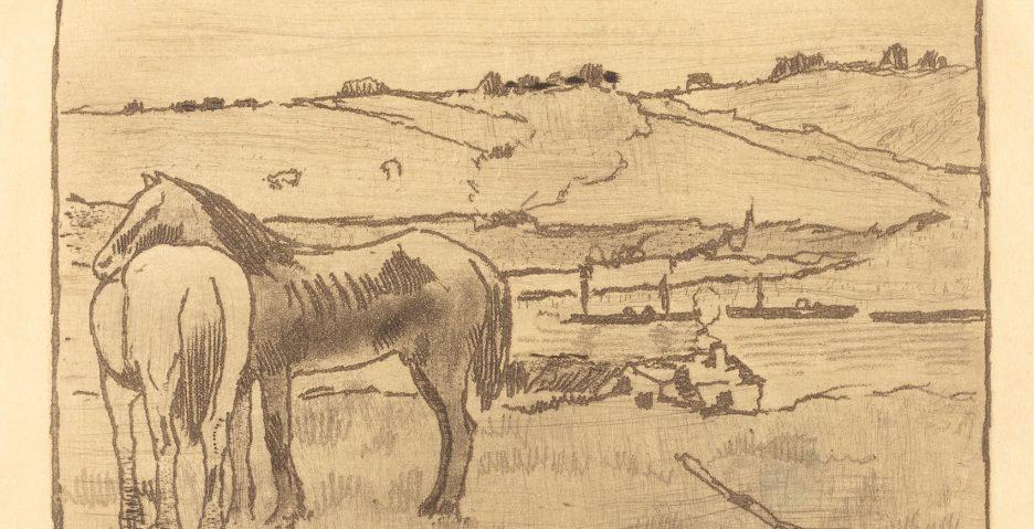 Grafika Edgara Degasa trafi na aukcję w Nowym Jorku