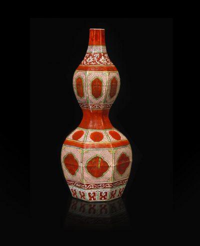 Jorge Welsh Works of Art, London, Kinrande Vase_TEFAF New York Fall